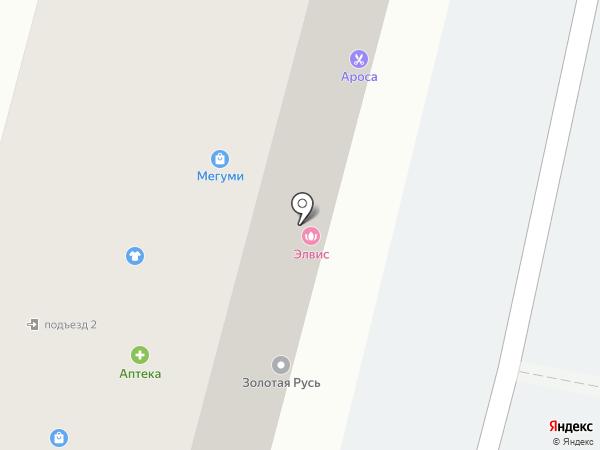 Элвис на карте Находки