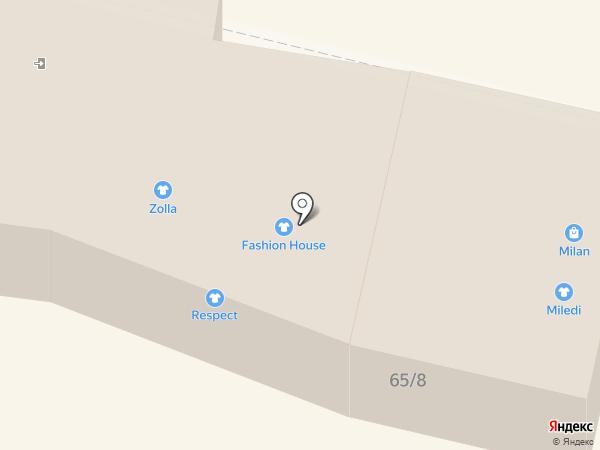 Milan на карте Находки