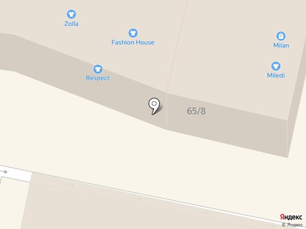 Milana на карте Находки