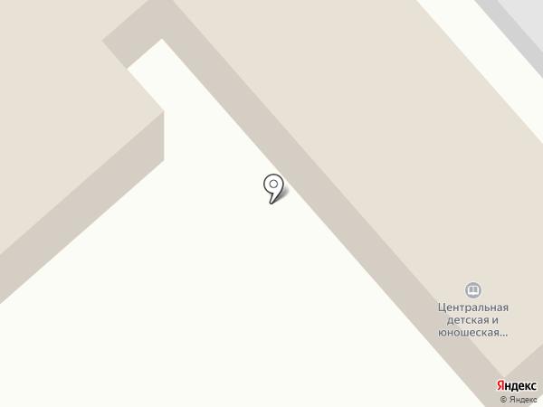 Центральная детско-юношеская библиотека на карте Находки