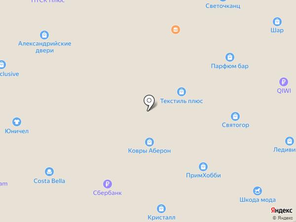 Gloria Jeans & Gee Jay на карте Находки