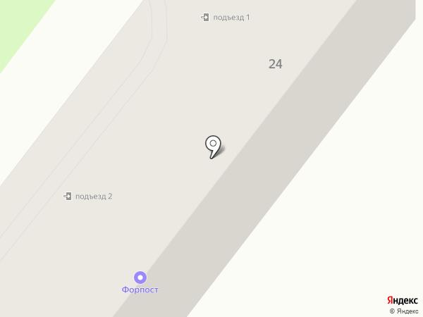 Форпост на карте Находки