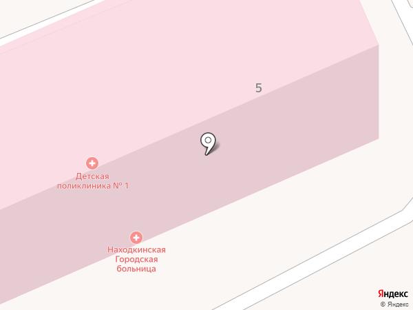 Детская поликлиника №1 на карте Находки