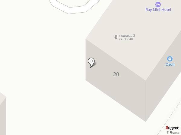 Статус ДВ на карте Находки