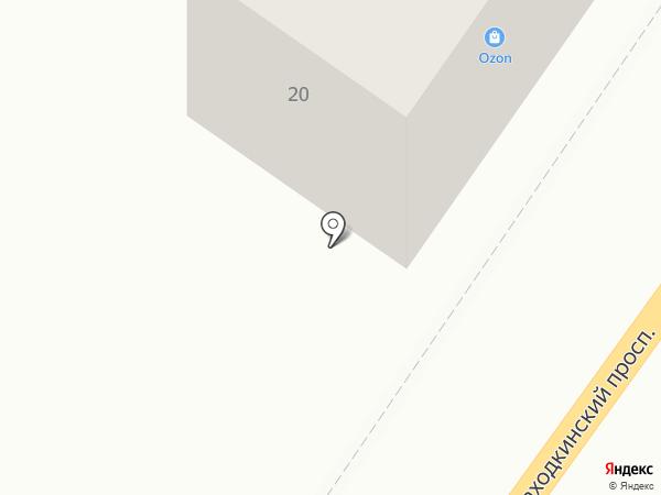 Автоток на карте Находки