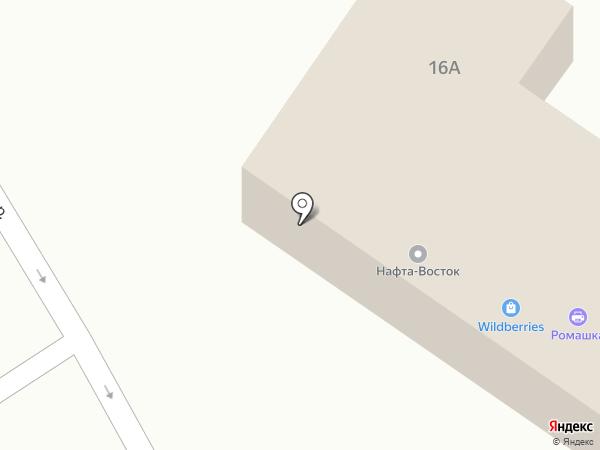 ГАЗФОНД на карте Находки