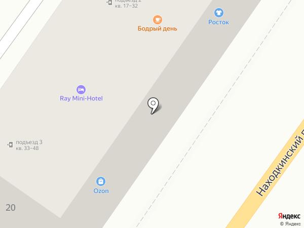 Татьяна на карте Находки