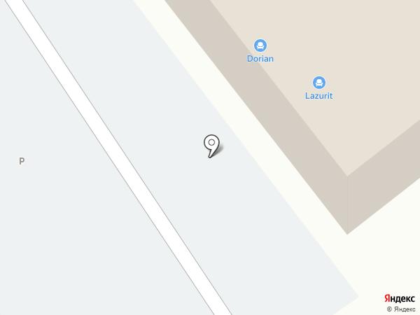 Акура на карте Находки