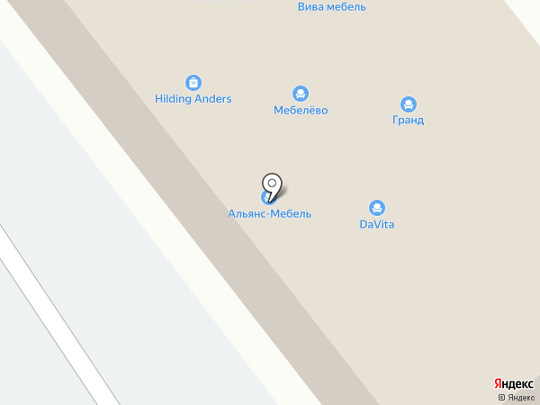 Аскона на карте Находки