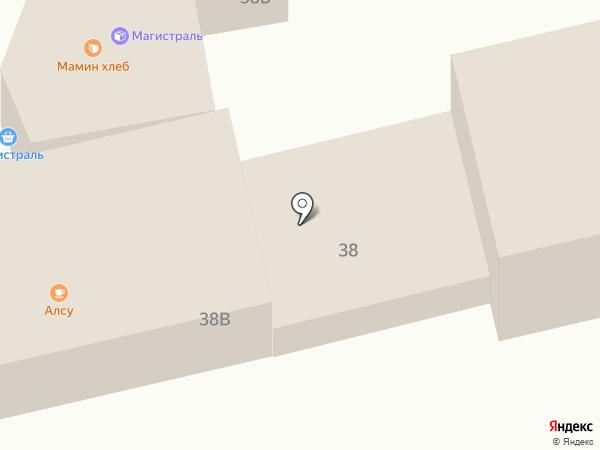 АвтоАзияТрейд на карте Находки