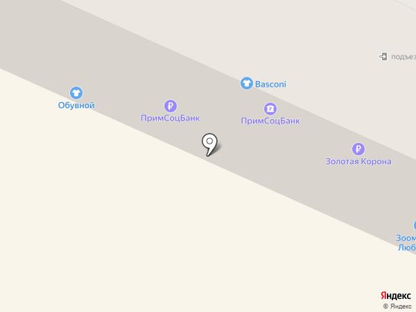 СКБ Приморья Примсоцбанк на карте Находки