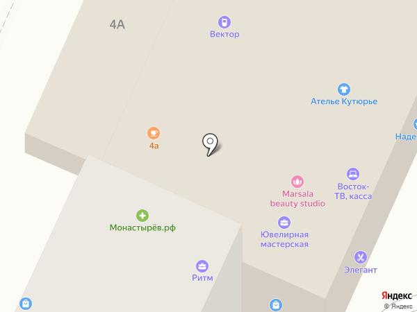Ритм на карте Находки