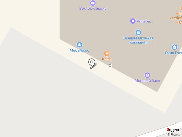 Азиан-Трэйд на карте Находки