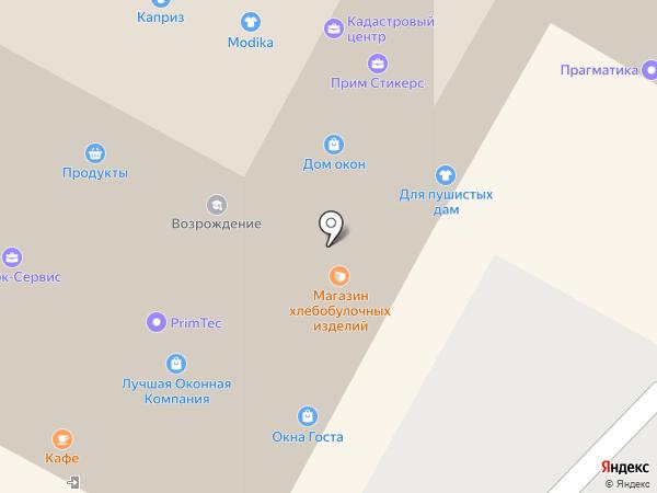 Для пушистых дам на карте Находки