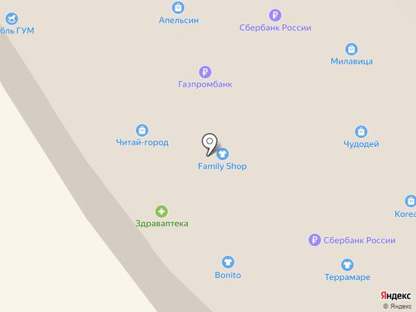 Absolutex на карте Находки