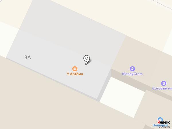 Сотовый мир на карте Находки