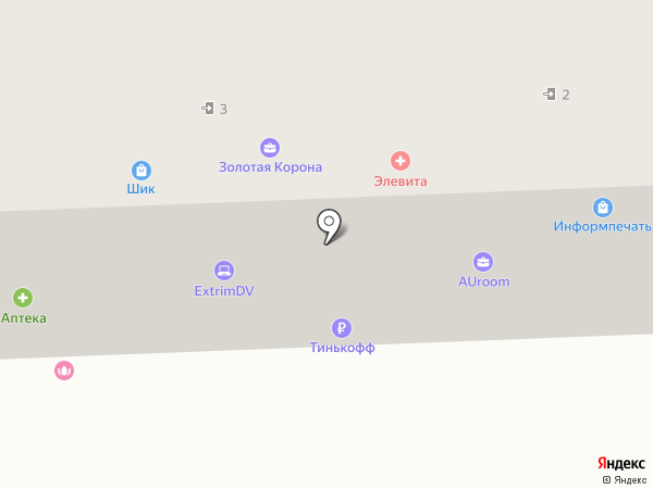 Медовая лавка на карте Находки