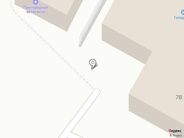 Гиперавто на карте Находки