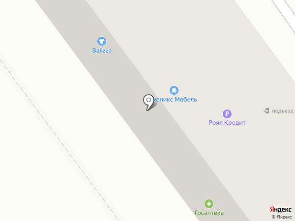 Феникс на карте Находки