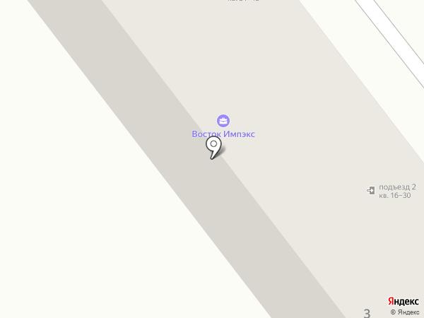 МегаПолис ДВ на карте Находки