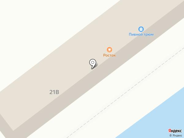 Матрица на карте Находки