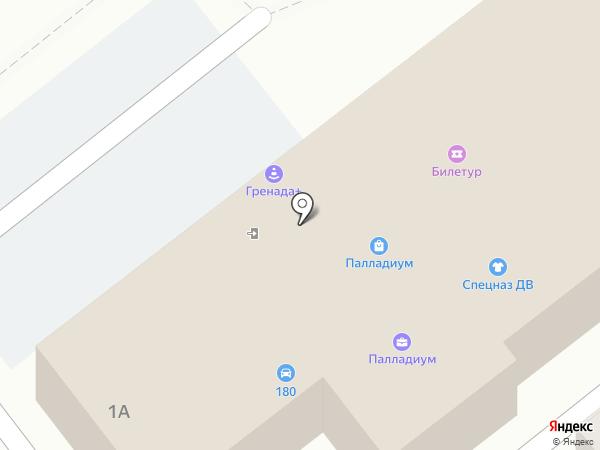 Спецназ ДВ на карте Находки
