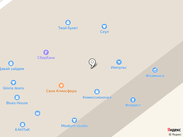 Каприз на карте Находки