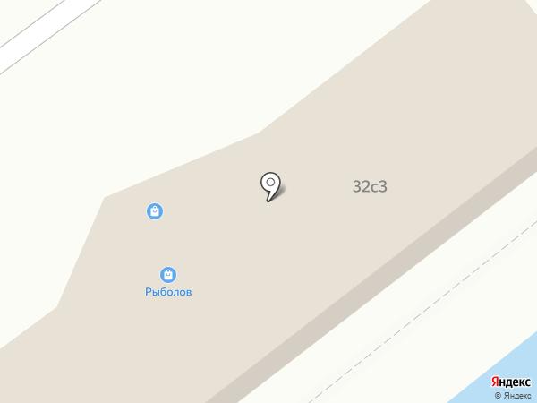 Рыболов на карте Находки