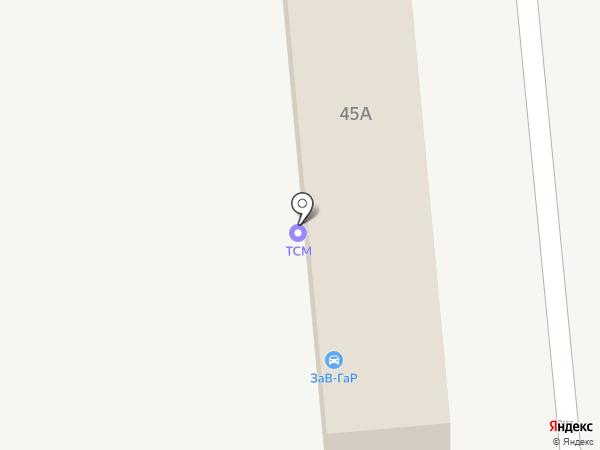 СПЕЦ ДВ на карте Находки