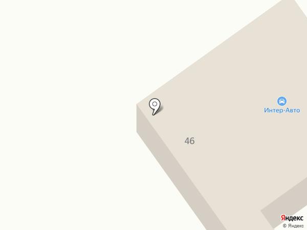 Автокомплекс на Шоссейной на карте Находки