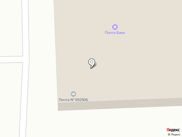 Отделение почтовой связи №6 на карте Находки
