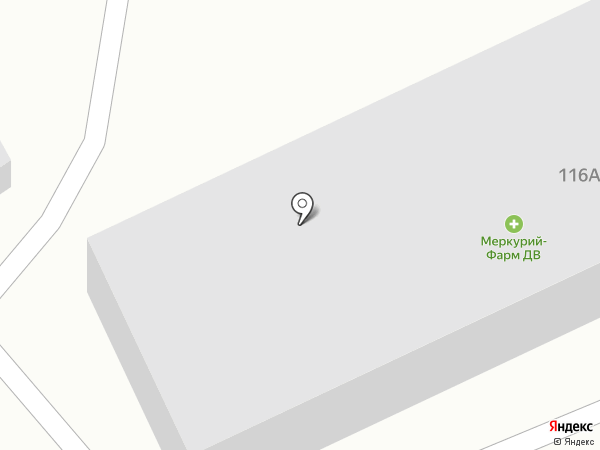 Меркурий Фарм ДВ на карте Находки