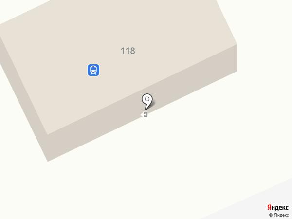 Железнодорожный вокзал г. Находки на карте Находки