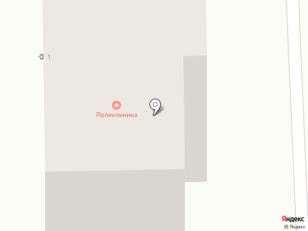 Находкинская городская поликлиника №1 на карте Находки