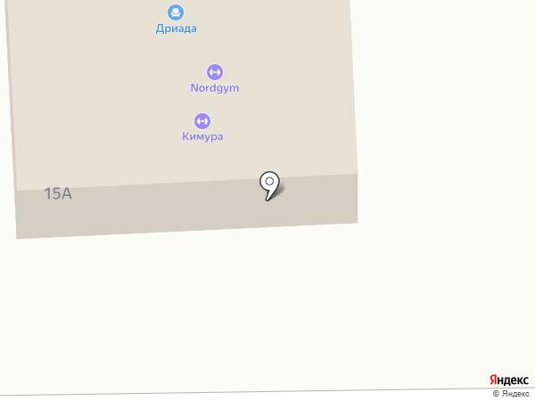 Дриада на карте Находки