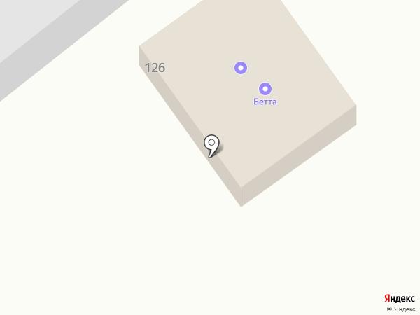 Бетта на карте Находки
