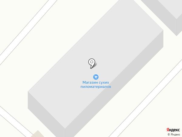 Анчоус на карте Находки