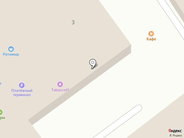 Макет на карте Находки