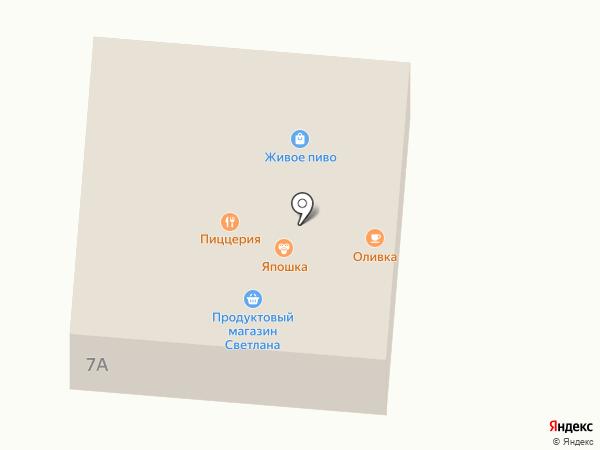 Tornado на карте Находки