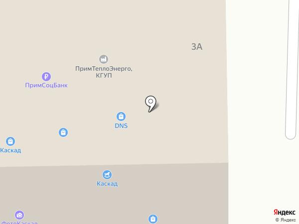 Ирис на карте Находки