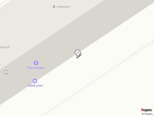 Прасад на карте Находки