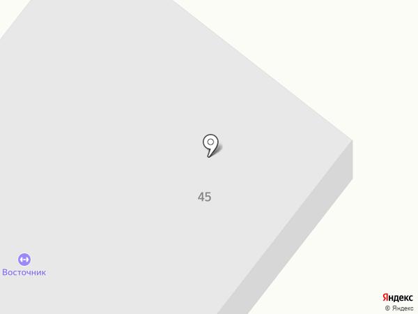 Восточник на карте Находки
