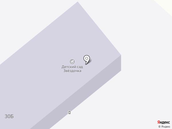 Звездочка на карте Владимиро-Александровского