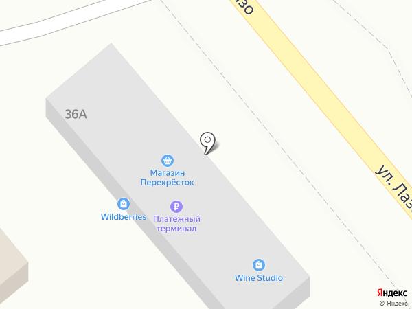 Перекрёсток на карте Владимиро-Александровского