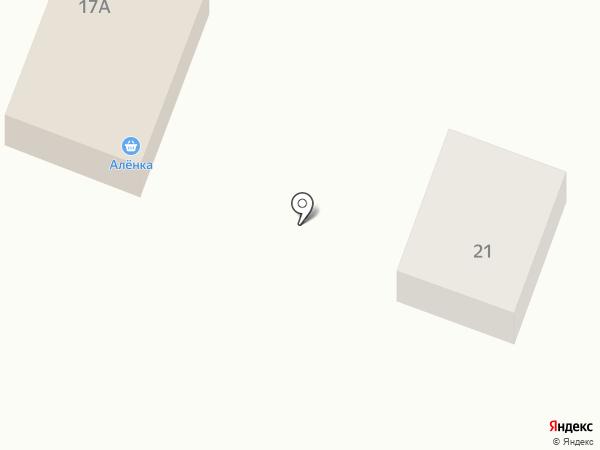 Алёнка на карте Приамурского