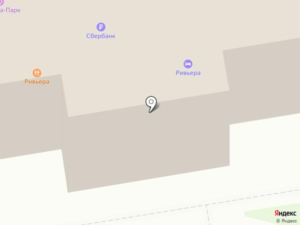 Ривьера на карте Краснореченского