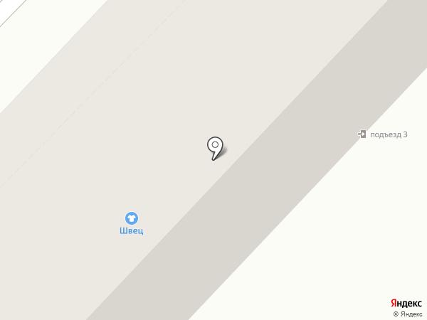 Магазин трикотажа на карте Хабаровска