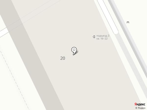 Диалог на карте Хабаровска