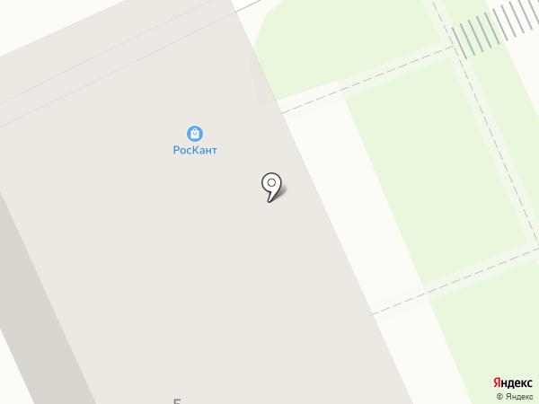 РосКанц на карте Хабаровска