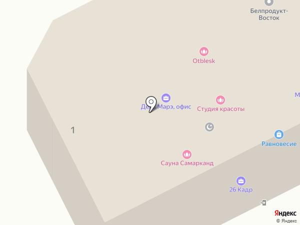 Лилия на карте Хабаровска